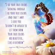 Let your true colors shine through!